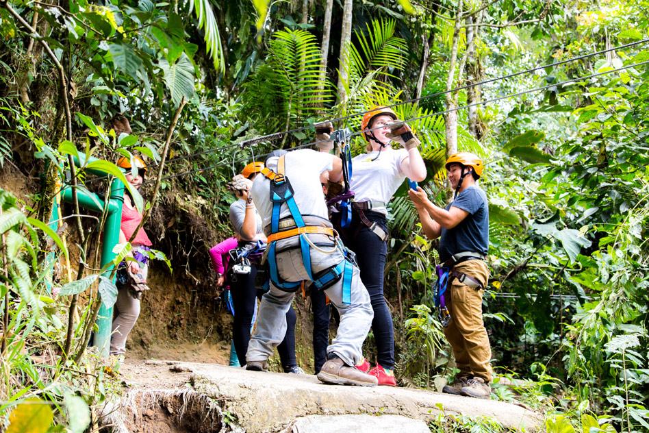 Apoyo tecnico & Mindo Canopy Ziplines Ecuador